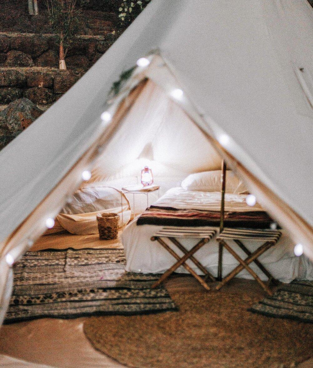 Tente privée Premium